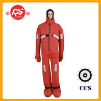 Marine lifesaving immersion suit